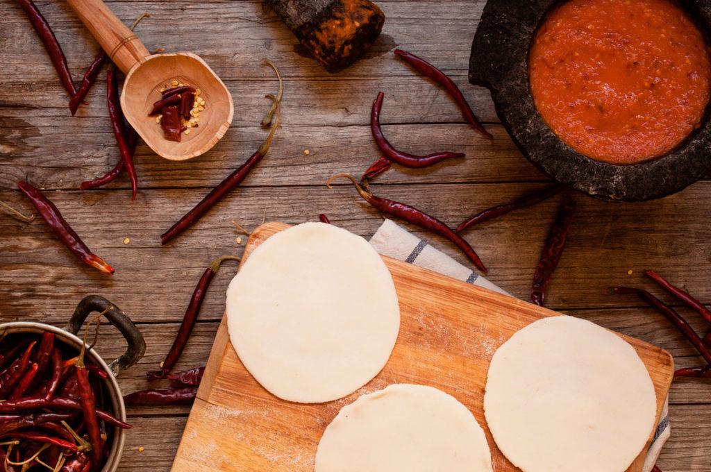 Cómo hacer tortillas de maíz para tacos