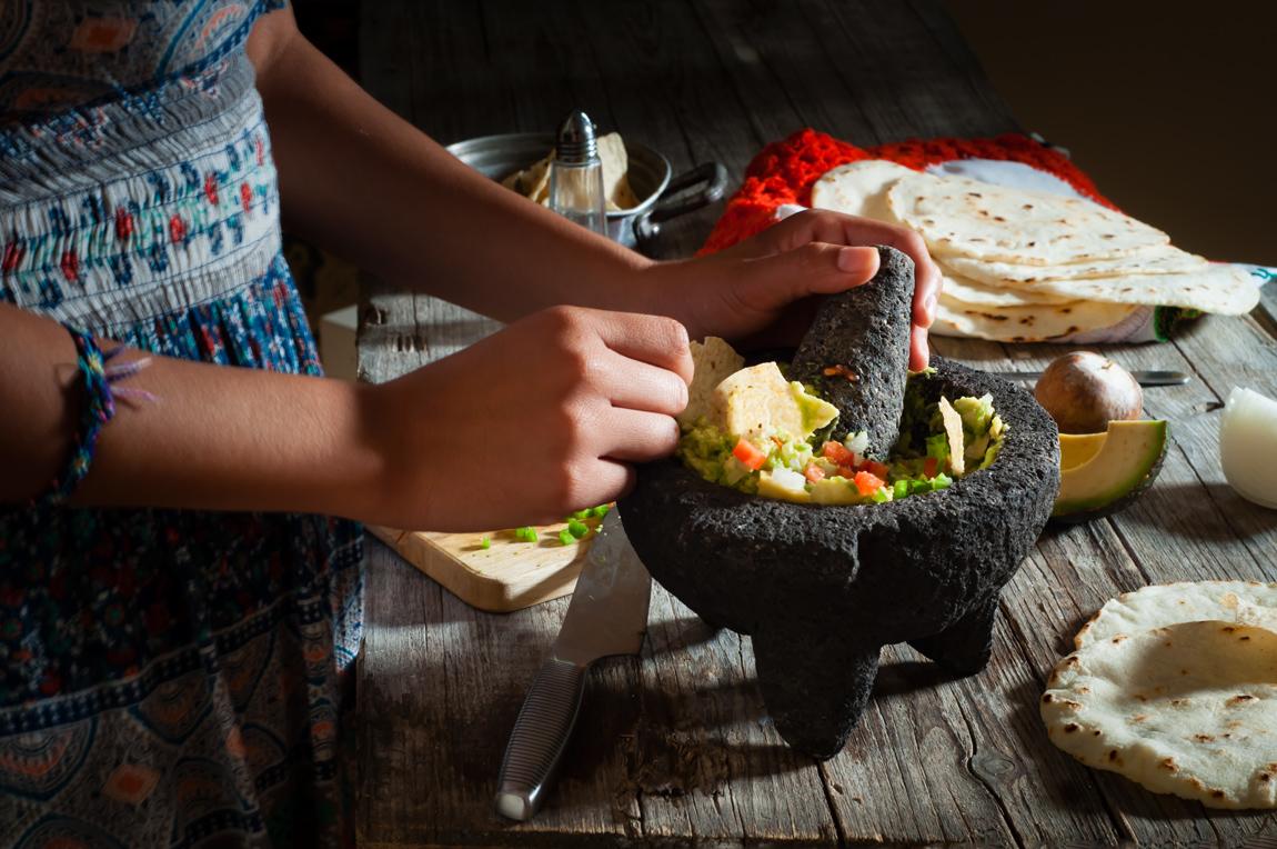Auténtica receta mexicana de guacamole