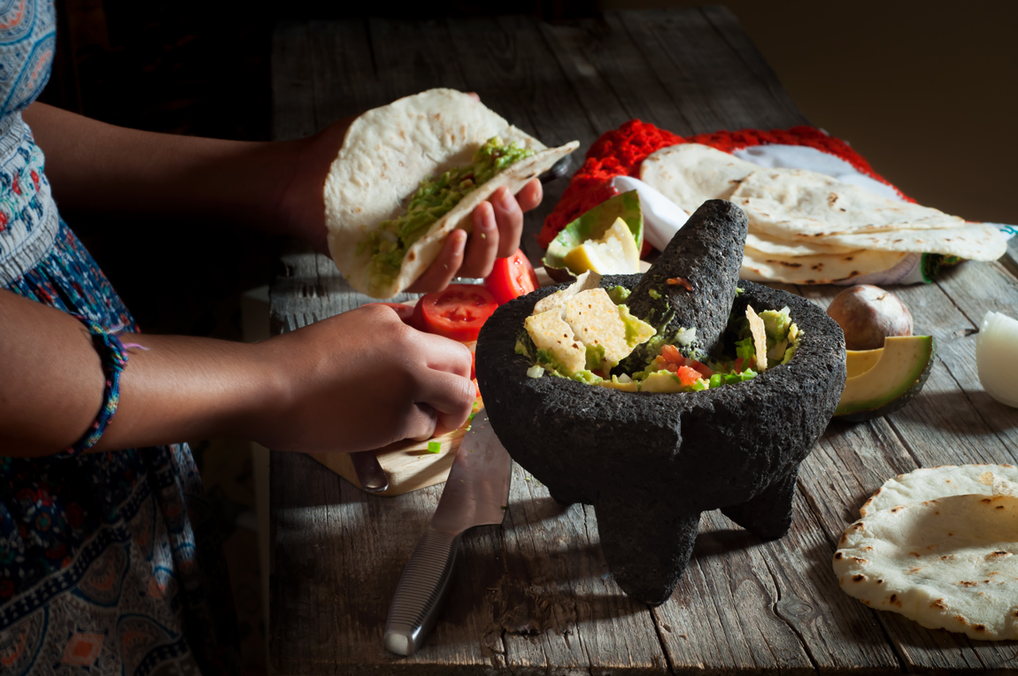 Guacamole auténtico mexicano