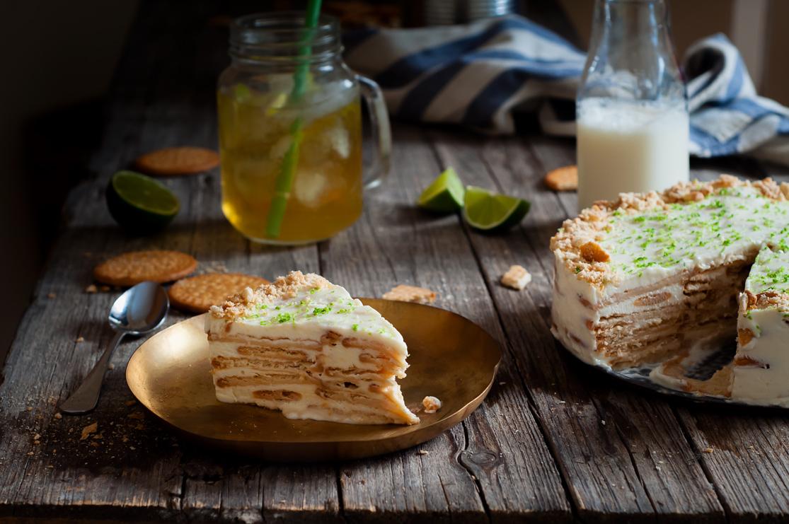 Tarta de Carlota de limon