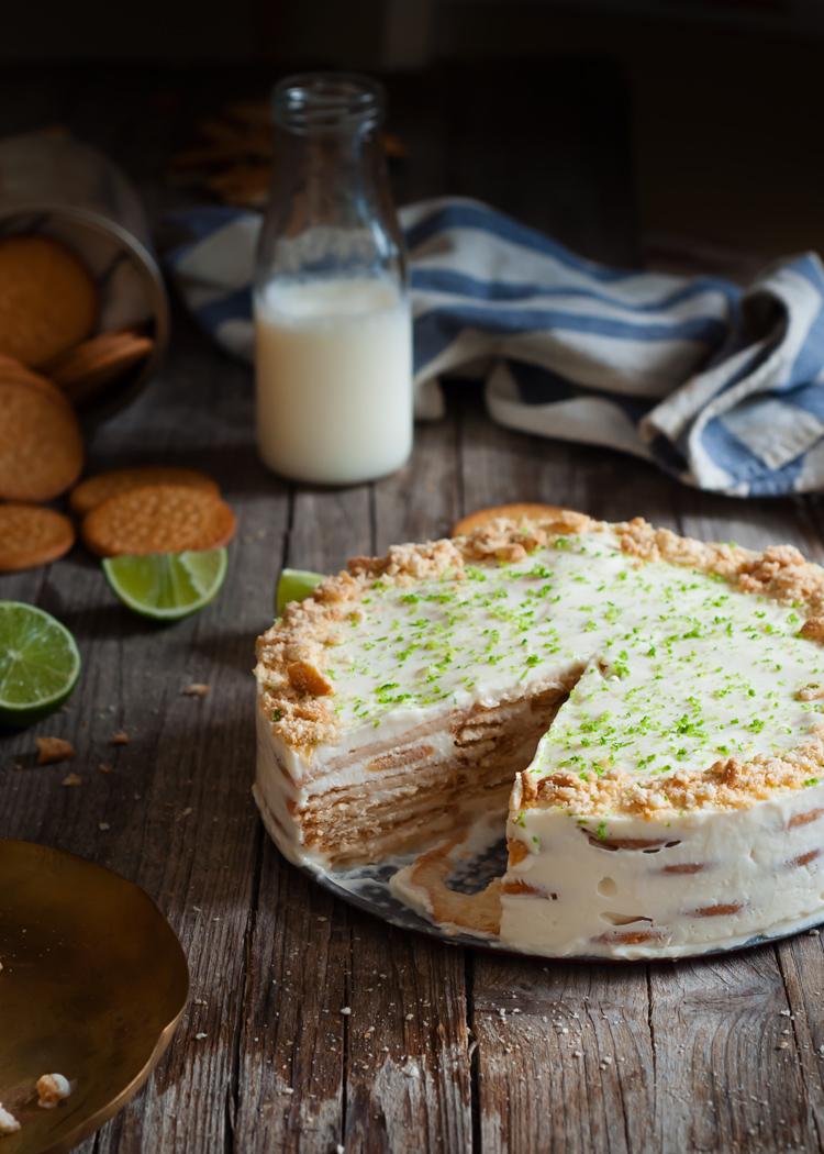 Receta de carlota de limón mexicana