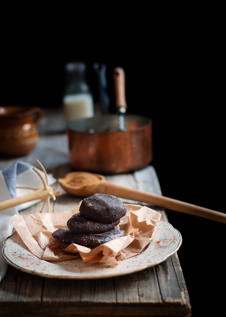 Chocolate mexicano preparado artesanalmente