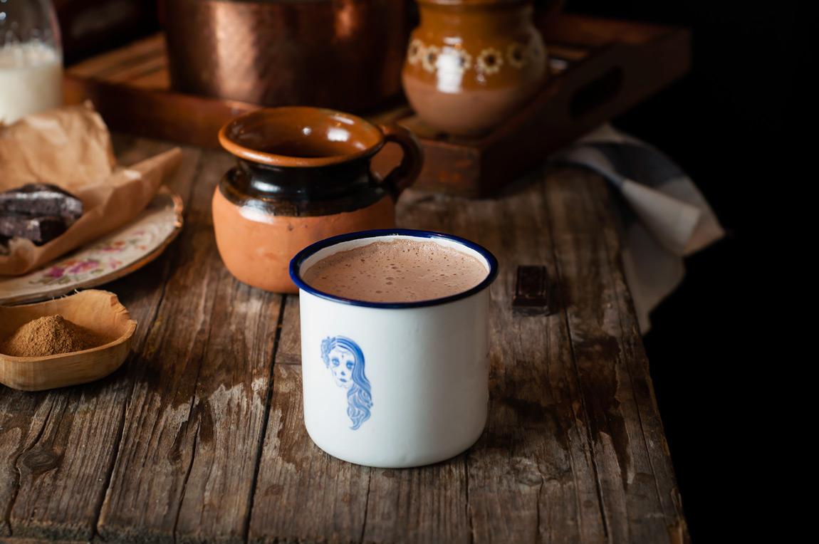 Recetas con chocolate mexicano artesanal