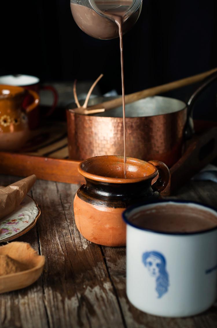 receta chocolate artesanal mexicano