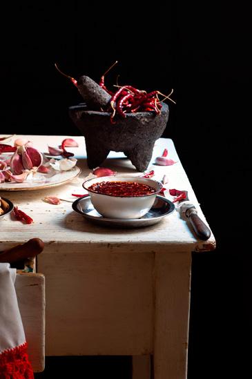 Receta de salsa macha picante