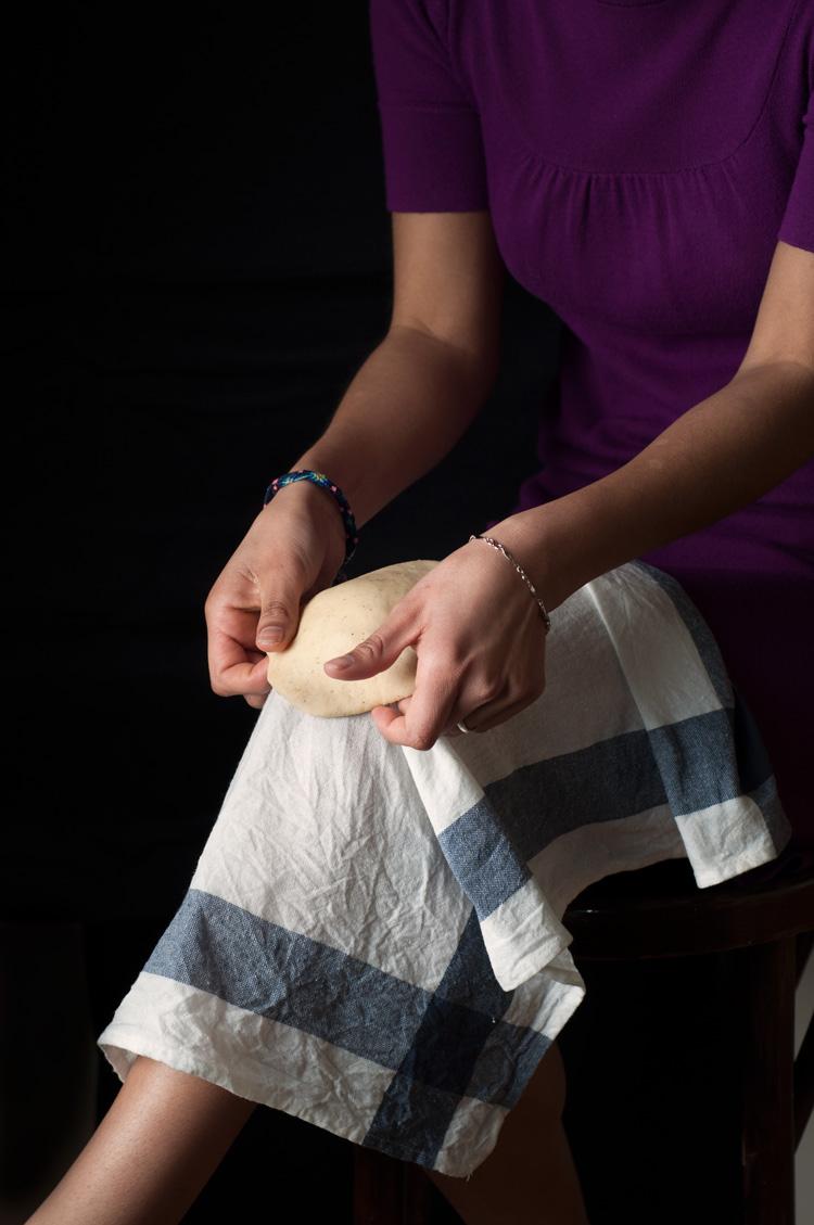 Procedimiento de buñuelos de rodilla