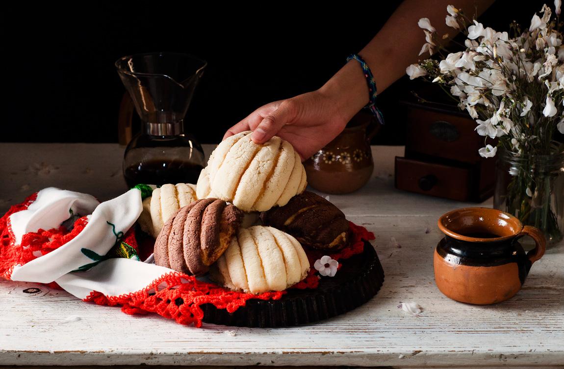 Pan dulce tradicional de México