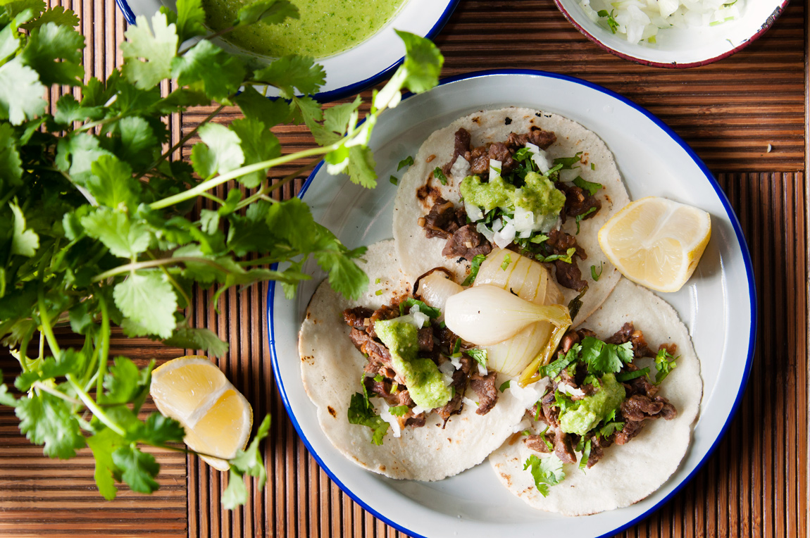 Tacos de asada