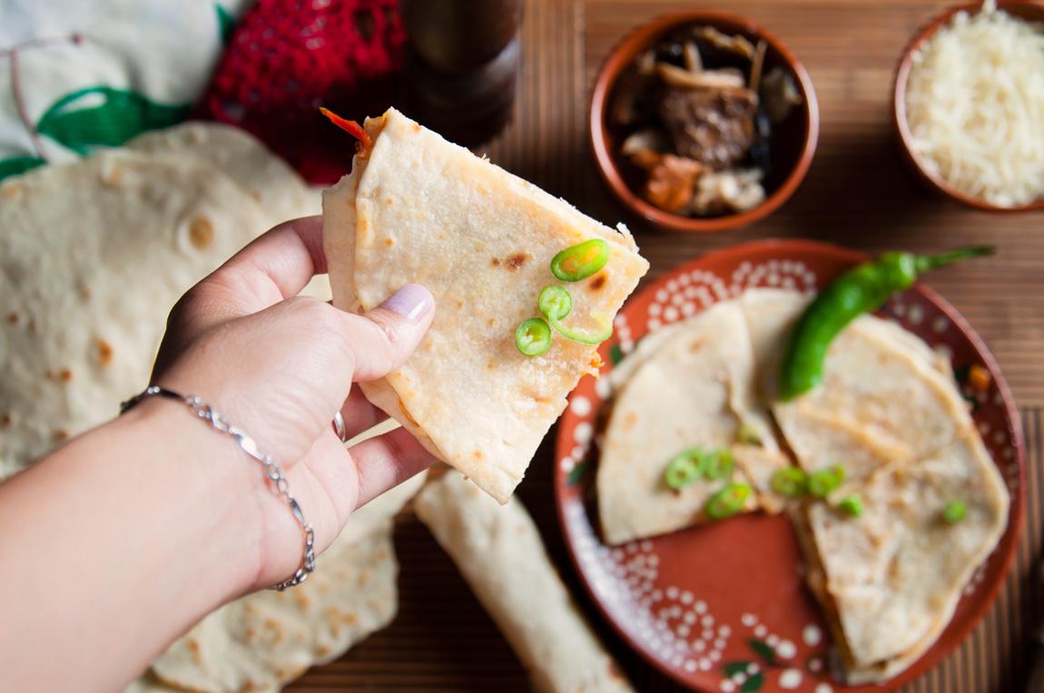 tortillas de harina mexicanas