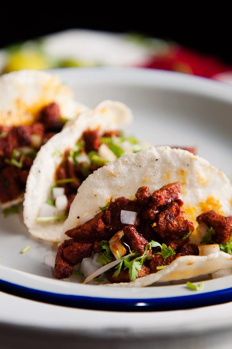 Receta de tacos de enchilada