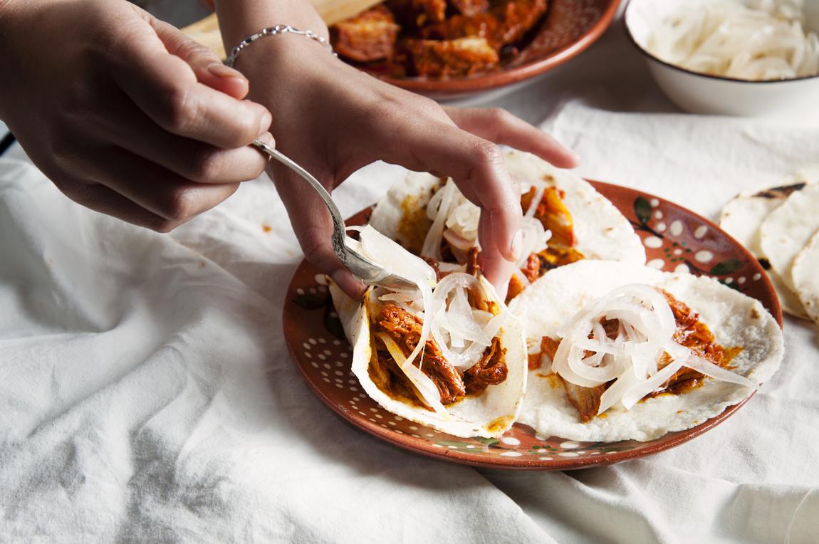 Receta tradicional de cochinita pibil