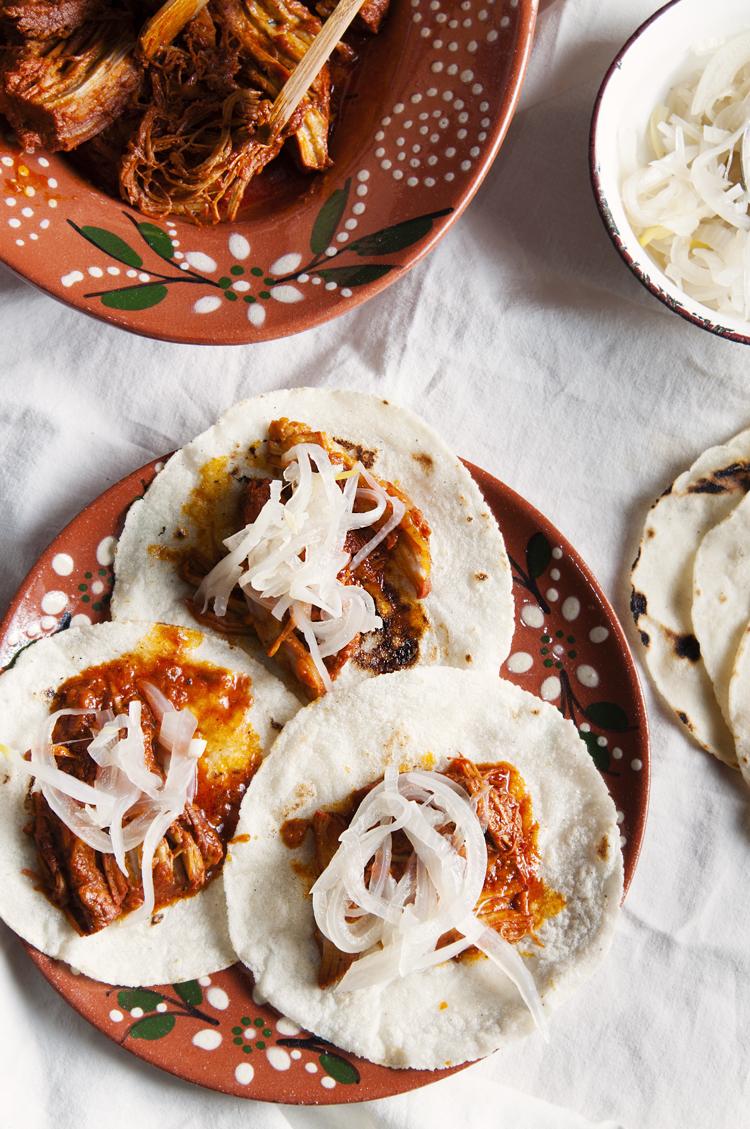 Tacos de cochinita pibil, receta tradicional