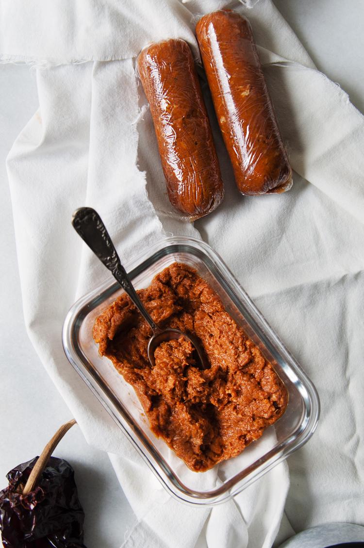 Chorizo mexicano casero