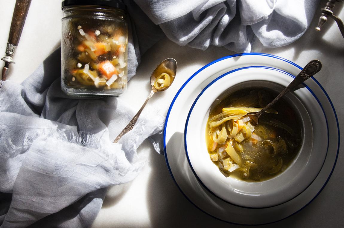 Receta de chiles en vinagre